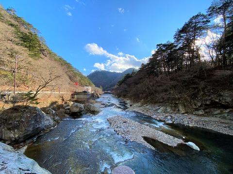 塩原温泉の風景