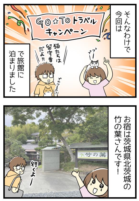今回はGOTOトラベルキャンペーンを使って温泉旅館に泊まることにしました!お宿はうぐいす谷温泉竹の葉さんです。