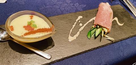 銀座ランチ前菜