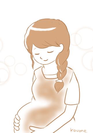 すてきな妊婦さん