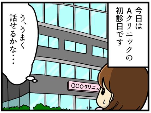 今日は転院先として選んだ、東京都内にある不妊治療専門病院Aクリニックの初診日です