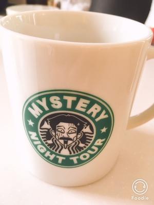 稲川淳二グッズのスタバ風マグカップ