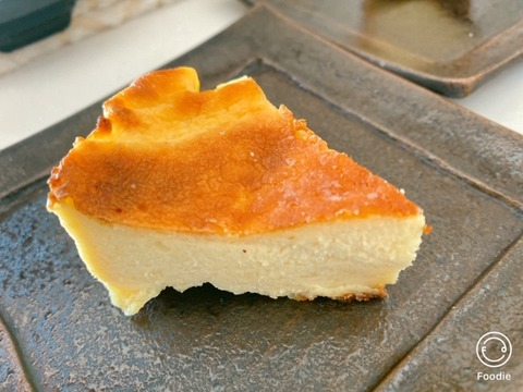 山本ゆりさんバスク風チーズケーキ