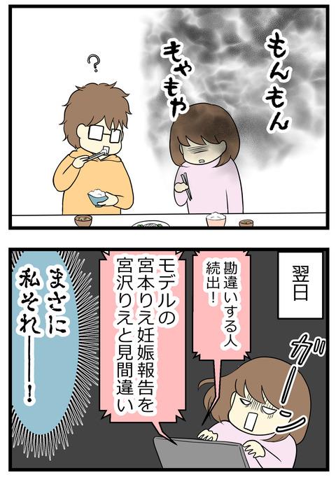 翌日のヤフーニュースで「モデルの宮本りえ妊娠報告を、宮沢りえが妊娠したと勘違いする人が続出した!」という話題を見て自分もそうだったと知りました