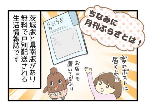 月刊ぷらざとは!茨城版と県南版とある無料で戸別配送される生活情報誌です
