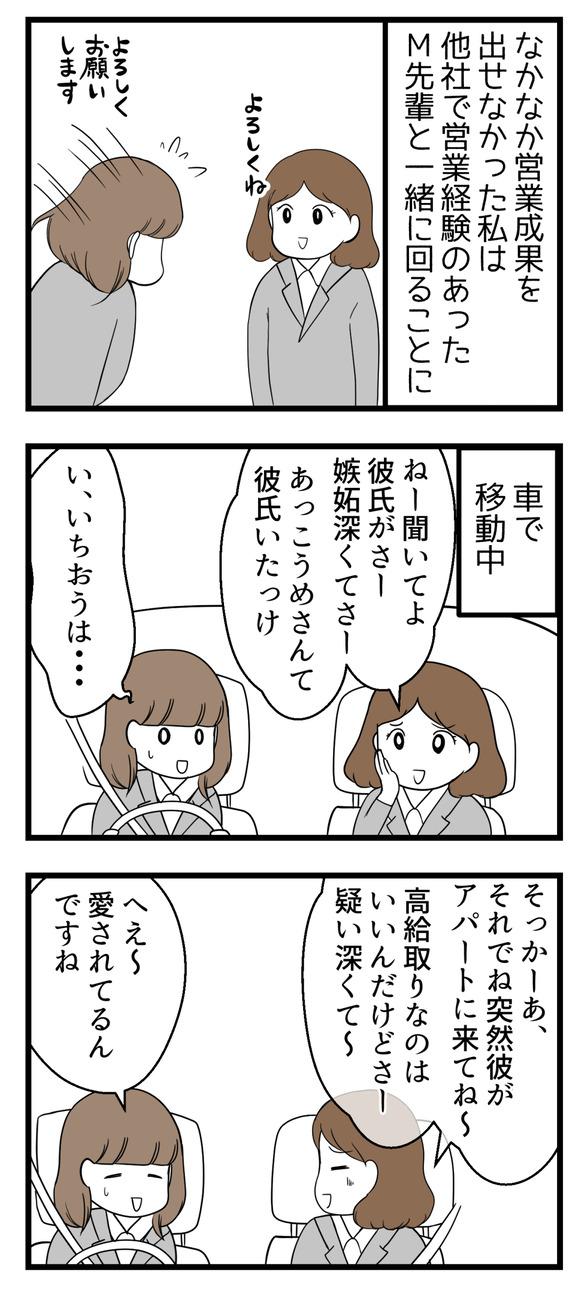 【ビンボーOL編18】会社の先輩Mさん-1-