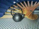 扇子&鉄瓶