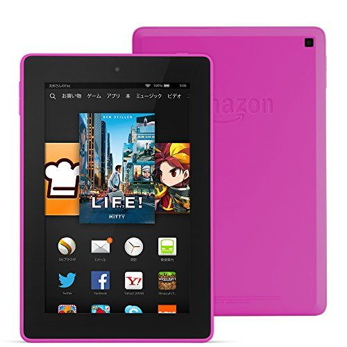 Fire HD 7タブレット 16GB、ピンク