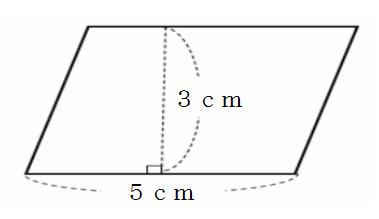 図形の公式 平行四辺形