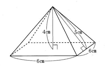 角錐の表面積