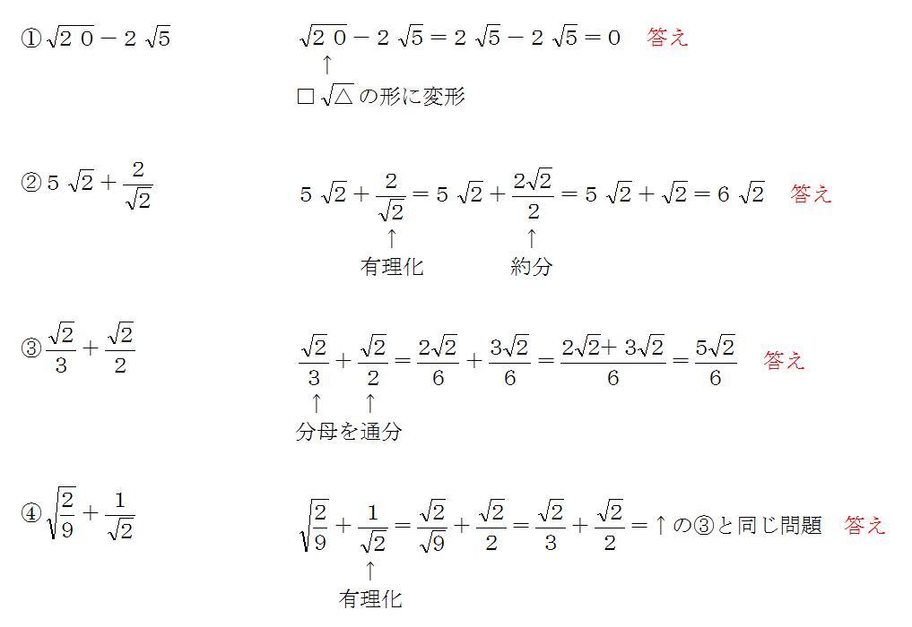 平方根の計算