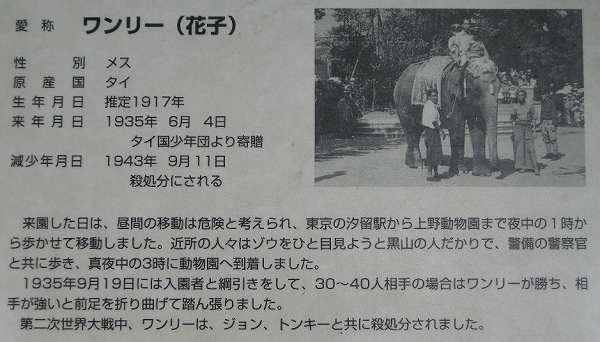 上野動物園の記念碑