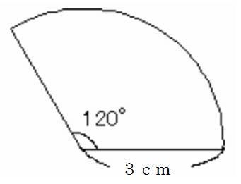 扇形 弧の長さ