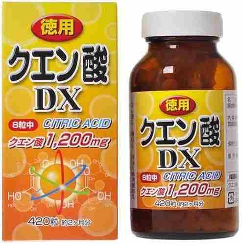 口内炎の治し方、クエン酸