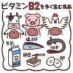 ビタミンB2の食べ物