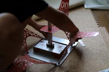 夏東京タワー工作