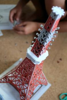 東京タワー工作