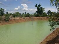 カンボジア ブッタの池 6