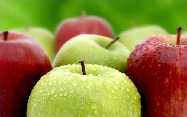 体の臭いを消す食べ物で役立つリンゴの効果とは?