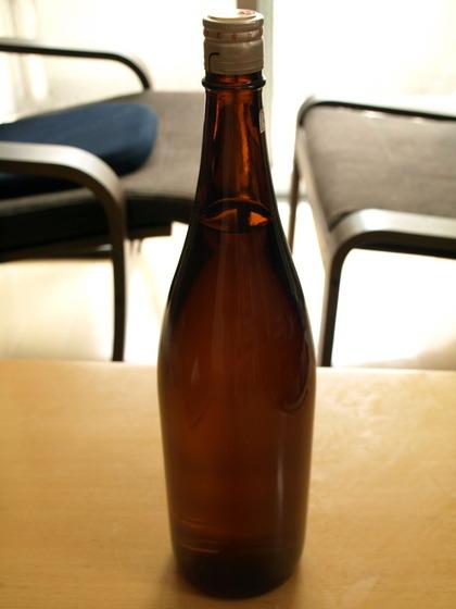 津波に耐えた日本酒