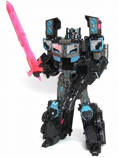 LG HMブラックコンボイ ロボット武装