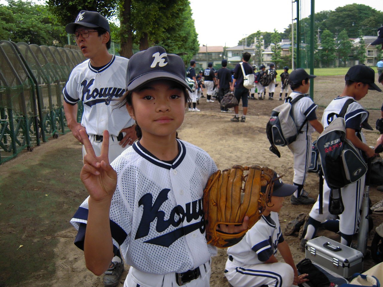 練馬区少年野球連盟新人戦1回戦VS北町ファイヤーズ : がんばれ!公友 ...