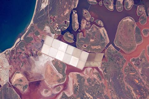 西オーストラリアの沿岸ラグーン