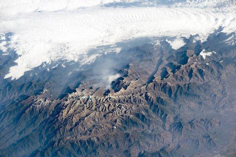 コロンビアのサンタ・マルタ山脈