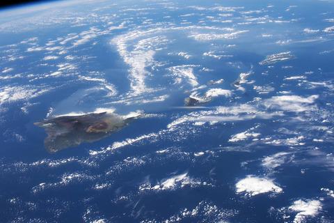 ハワイ、キラウエア火山