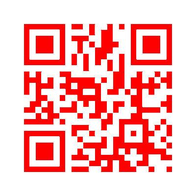 赤いQRコード