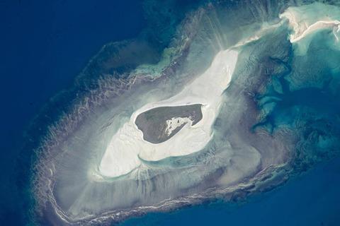 オーストラリアの北海岸沖にあるアデル島