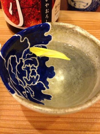 重陽の節句  菊の食卓