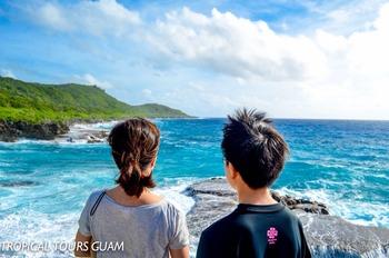13歳の息子と行くグアム☆2016 【洞窟探検ツアー】