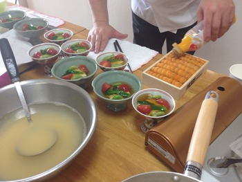 柿澤日本料理教室 2015年4月