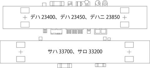 床下機器配置説明図