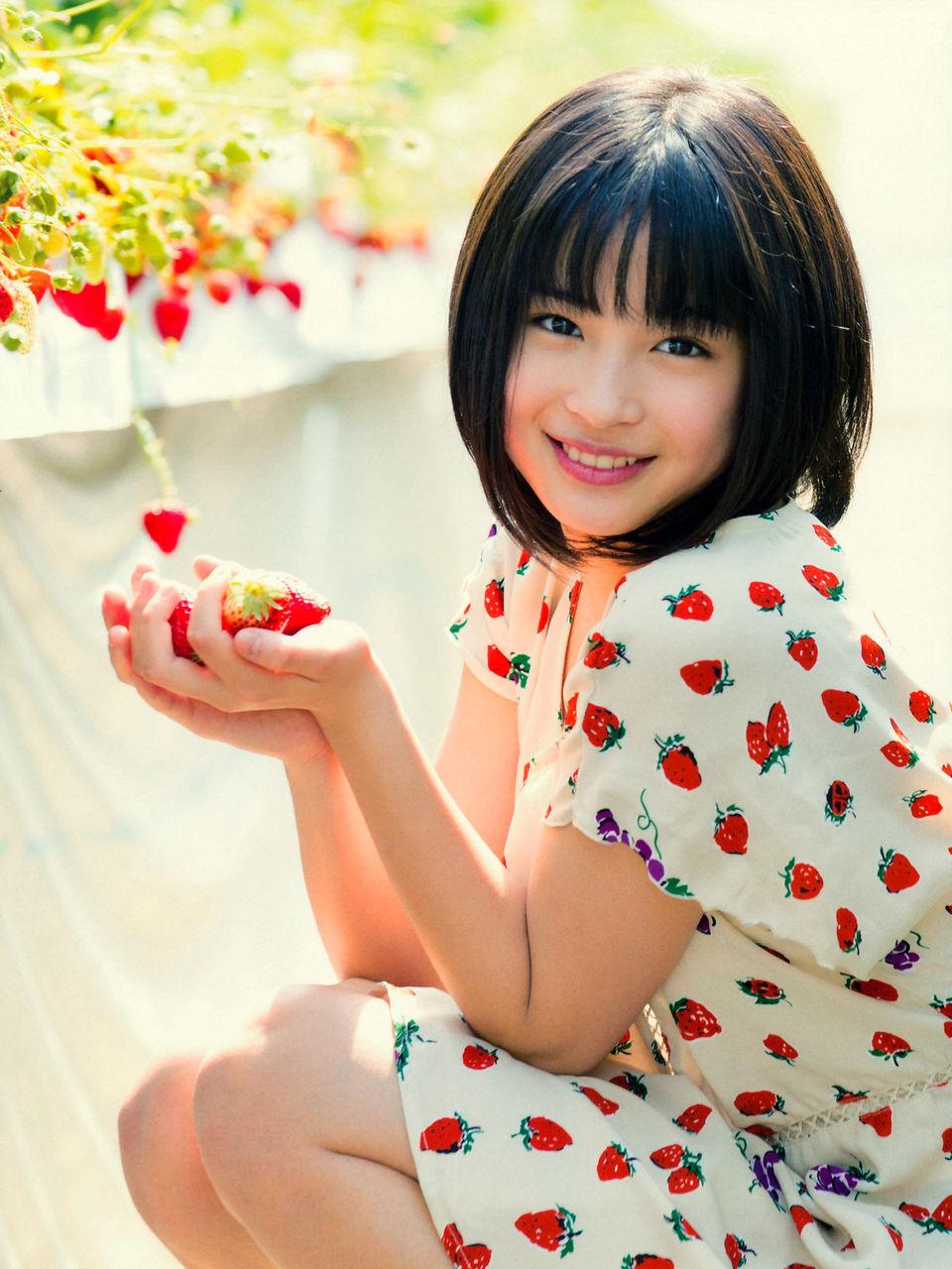 広瀬すずちゃん 中学3年生 6月19日 水 15才のお誕生日おめでとう