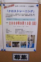 cross-training-20090913-poster