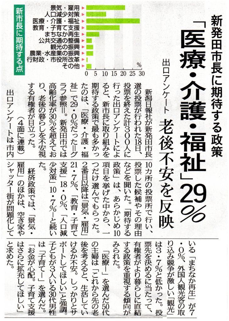 20181121新潟日報 市長選アンケート004