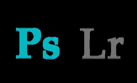 Photoshop&Lightroom 自作ロゴ