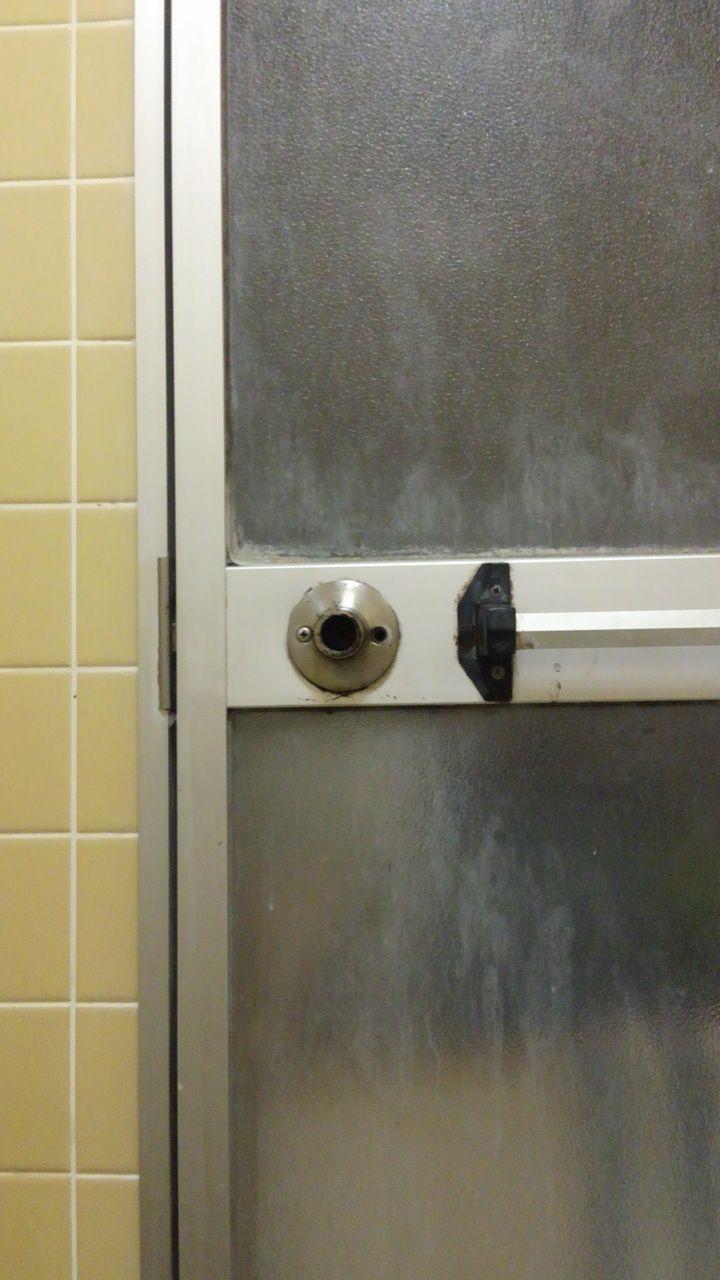 シェアハウスの風呂場に閉じ込められた!