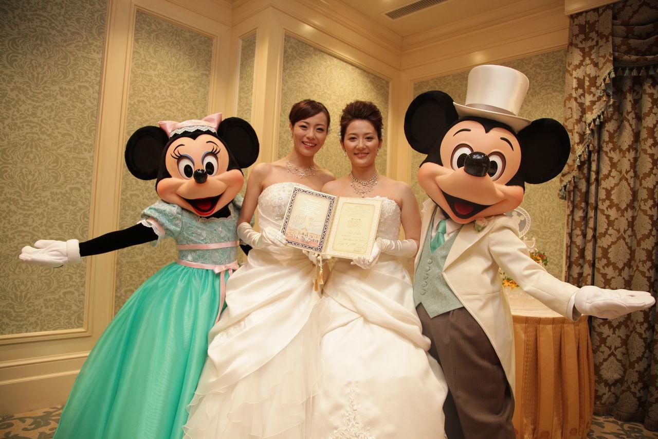 結婚 ディズニー