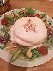 チーズフォンデュホットケーキ