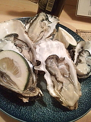 牡蠣にうもれにきました
