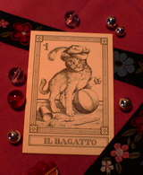猫タロット「魔術師」