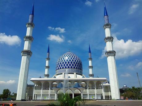 年末年始マレーシア旅行2011-2012 5日目 ~ブルーモスク → バトゥ洞窟 → アロー通り屋台街(ブキッ・ビンタン@クアラルンプール)~