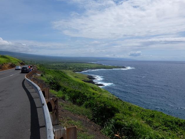 GWフライング旅行:ハワイ島5日目 ~ハワイ島南部をグルっと半周したよ!ウミガメに出会えるプナルウ黒砂海岸には絶対に行った方がいい~