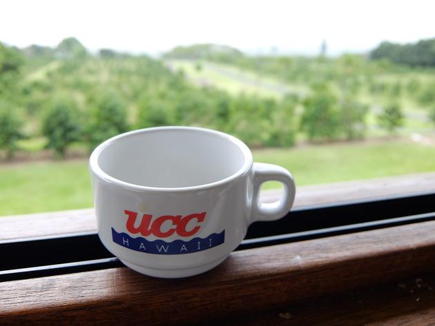 時間があったので予定にはなかったUCCコーヒー農園にも行ってみた