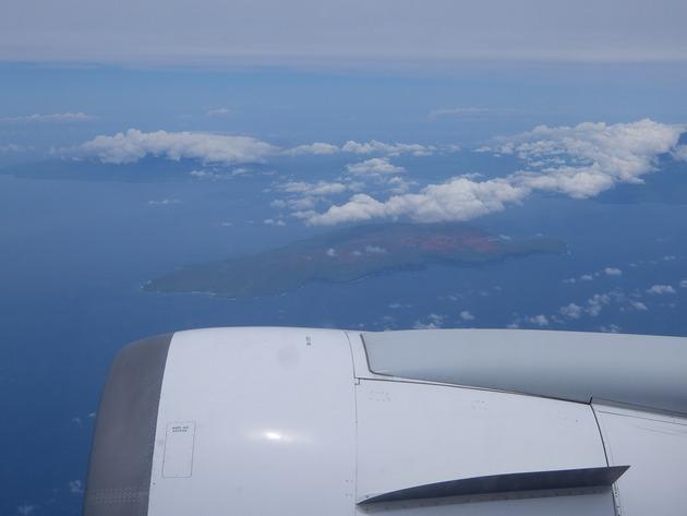 1週間ぶり?の日本へ。ハワイ島の隣にあるモロカイ島。いつかこの島にも行ってみたい