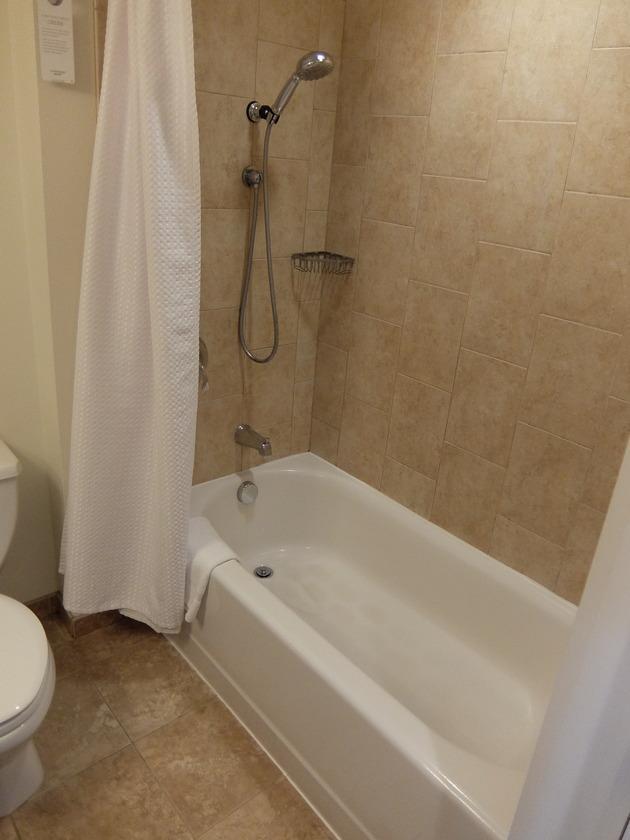 シャワー&浴槽