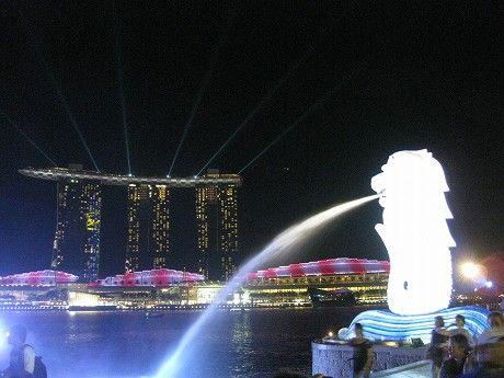 週末シンガポール旅行2日目 ~カトンとクラークキーを散策→マリーナベイ周辺でマーライオンとマリーナベイサンズの夜景を堪能~